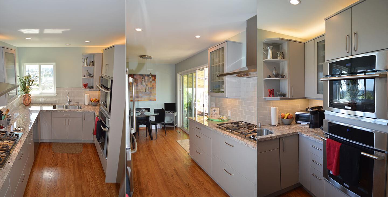 3 Up Small Modern Kitchen